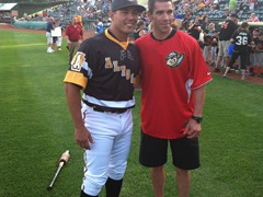 Stanley Cup Champ, Pascal Dupuis during one of his two visits to Curve, PA.