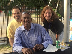 Hall of Famer, Fergie Jenkins appearing at the Illinois state baseball playoffs