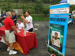 """Actor/Author, Dwier Brown paid a visit to the Washington Wild Things promoting his new book, ""If You Build It."