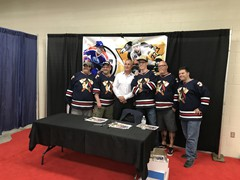 Paul Coffey/Johnstown Hockey Hall of Famer and Stanley Cup Champ, Paul Coffey was on hand to sign autographs during the Johnstown Tomahawks Home Opener