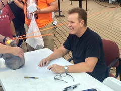 "Actor/Comedian, Steve Hytner was on hand for ""Bania Mania Night"" with the Altoona Curve.  Hytner played the role of Kenny Bania on the TV series, Seinfeld."