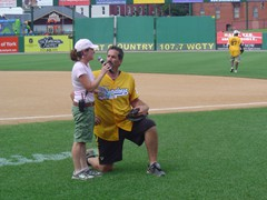 York Revolution Celebrity Softball Game